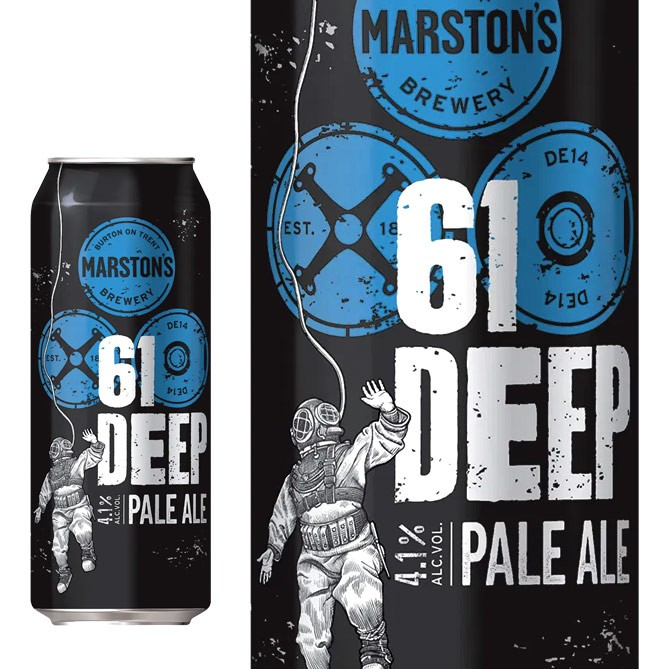 Marston´s 61 Deep Pale Ale Lata 500ml