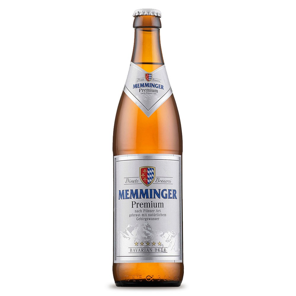 Memminger Premium Pils 500ml