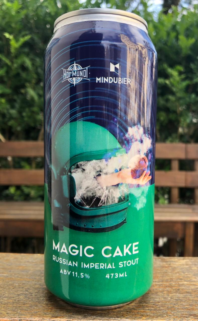 Mindubier Magic Cake Russian Imperial Stout Lata 473ml
