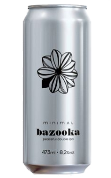 Minimal Bazooka  Lata 473ml Double Ipa