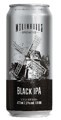 Molinarius Black IPA Lata 473ml