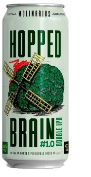 Molinarius Hopped Brain #1.0 Lata 473ml Double IPA
