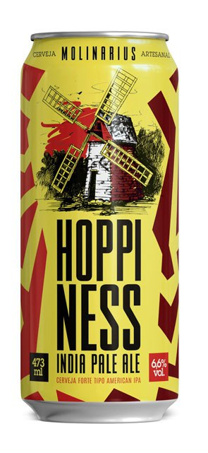 Molinarius Hoppiness #1.0 Lata 473ml India Pale Ale