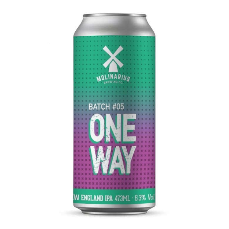 Molinarius One Way BATCH #5 New England IPA Lata 473ml