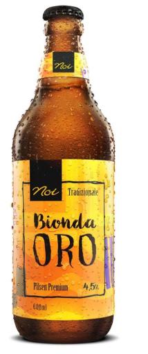 Noi Bionda ORO 600ml Pilsen Premium