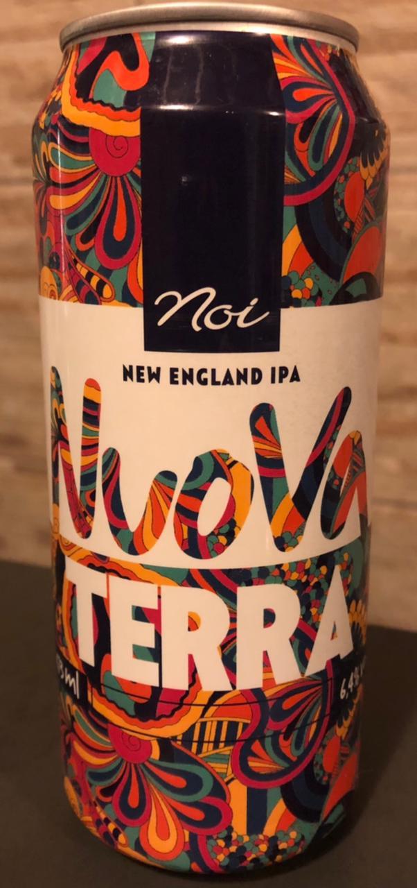 Noi Nuova Terra Lata 473ml New England IPA