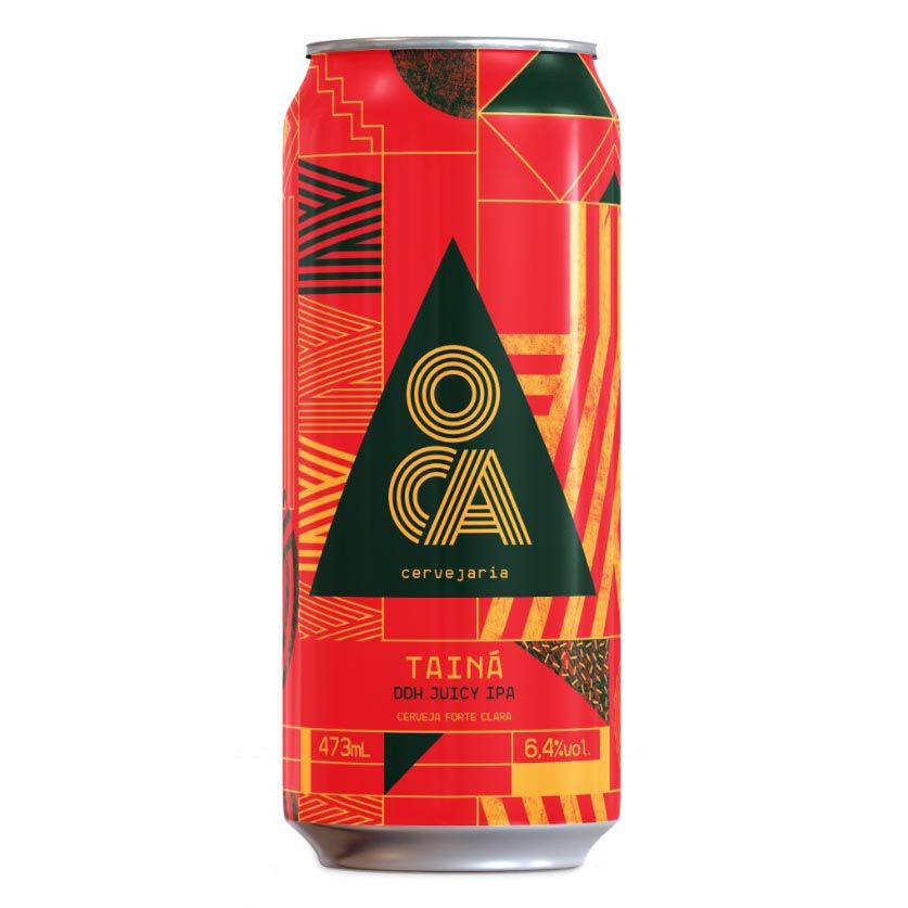 Oca Cervejaria Taina DDH Juicy Ipa Lata 473ml