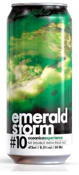 Oceanica Emerald Storm #10 Lata 473ml NE Double IPA