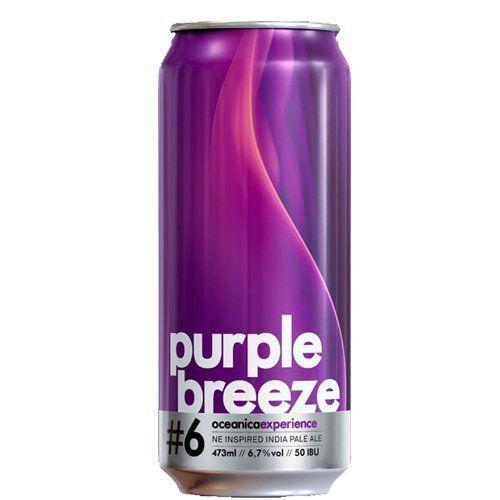 Oceânica  Purple Breeze #6 Lata 473ml NE iPA