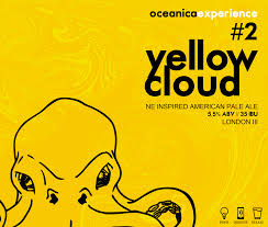 Oceânica Yellow Cloud #2 American Pale Ale 473 ml