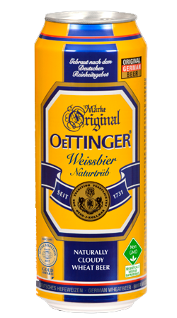 Oettinger Weissbier Naturtrub Lata 500ml
