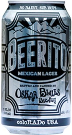 Oskar Blues Beerito 355ml Vienna Lager