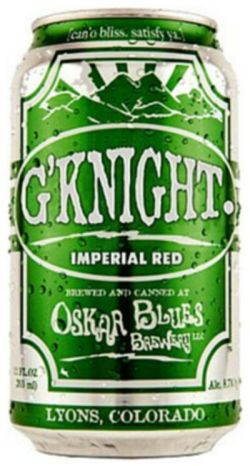Oskar Blues G'Knight Imperial Red IPA 355ml