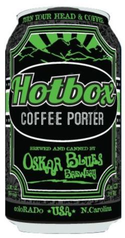Oskar Blues Hot Box 355ml Porter