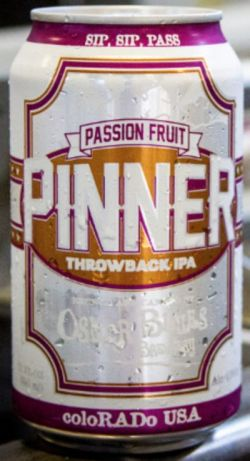 Oskar Blues Pinner Passion IPA 355ml