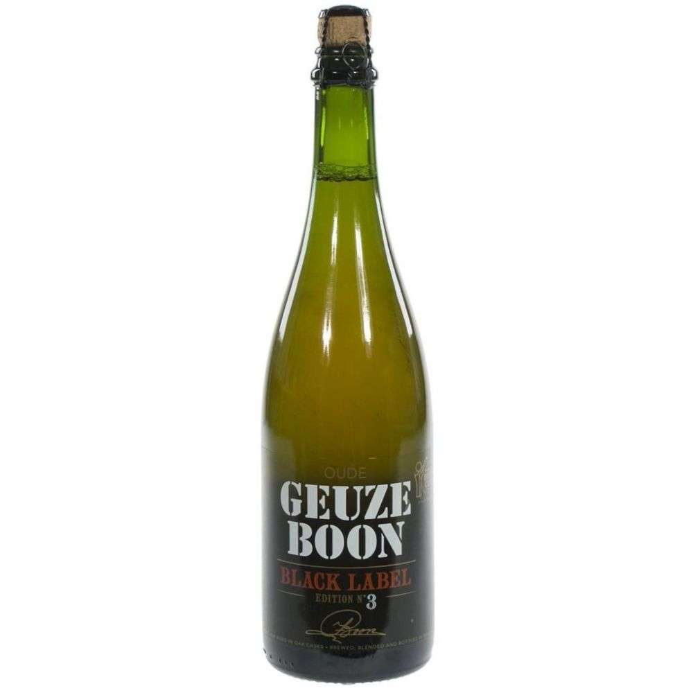 Oude Geuze Boon Black Label Editon 3 - 750ml