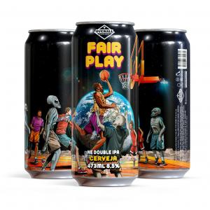 Overall Fair Play - Lata 473ml - Ne Double Ipa