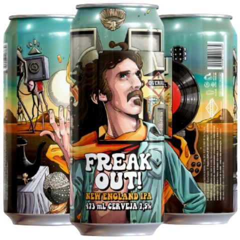 Overall Freak Out - Lata 473ml - New England Ipa