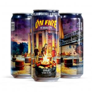 Overall On Fire - Lata 473ml - Ne Double Ipa
