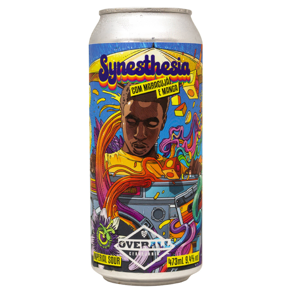 Overall Synesthesia - Lata 473ml - Imperial Sour com Maracujá e Manga