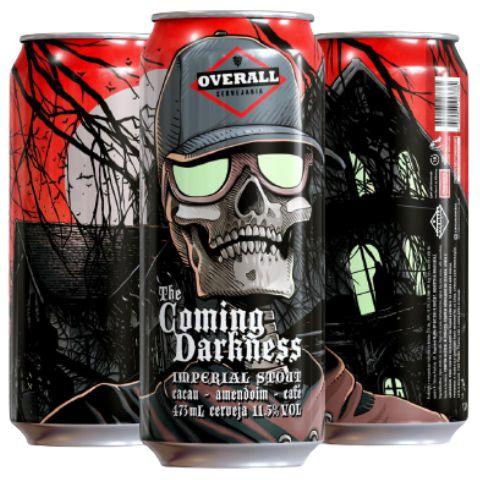 Overall The Coming Darkness - Lata 473ml - Imperial Stout com Cacau, Amendoim e Café