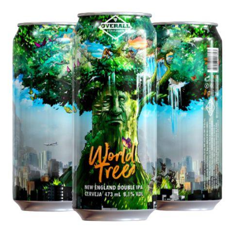 Overall World Tree - Lata 473ml - New England Double Ipa