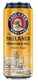 Paulaner Munchner Hell Lata 500ml - Munich Lager