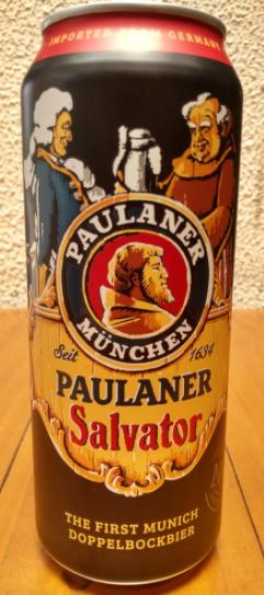 Paulaner Salvator Lata 500ml Doppelbock