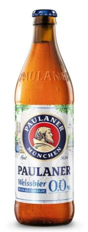 Paulaner Weissbier sem álcool 500ml