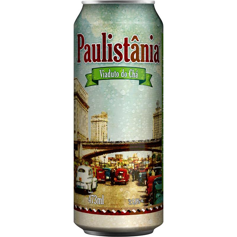 Paulistânia Viaduto do Chá Lata 473ml - American Hop Lager
