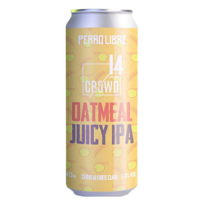 Perro Libre 14 Crownd Oatmeal Juicy Ipa  473ml