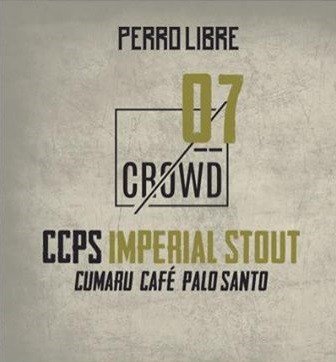 Perro Libre CCPS Imperial Stout 375ml - Crowd Series