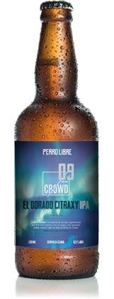 Perro Libre El Dorado Citraxy IPA 500ml Crowd Series 09