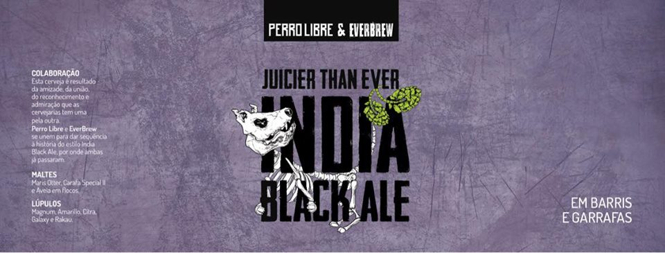 Perro Libre / Everbrew Juicier Than Ever India Black Ale 500ml