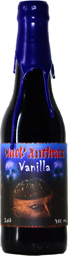 Quatro Graus Black Anthrax Vanilla 355ml