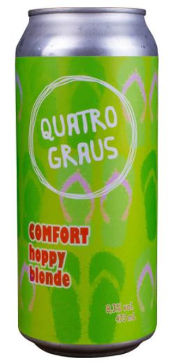 Quatro Graus Comfort Hoppy Blonde Lata 473ml