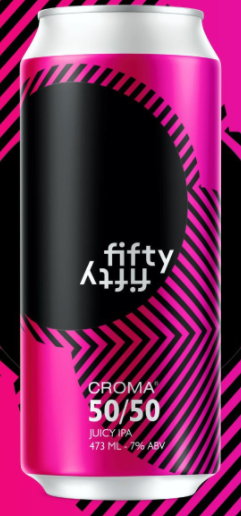Croma Fifty Fifty Lata 473ml Juicy IPA
