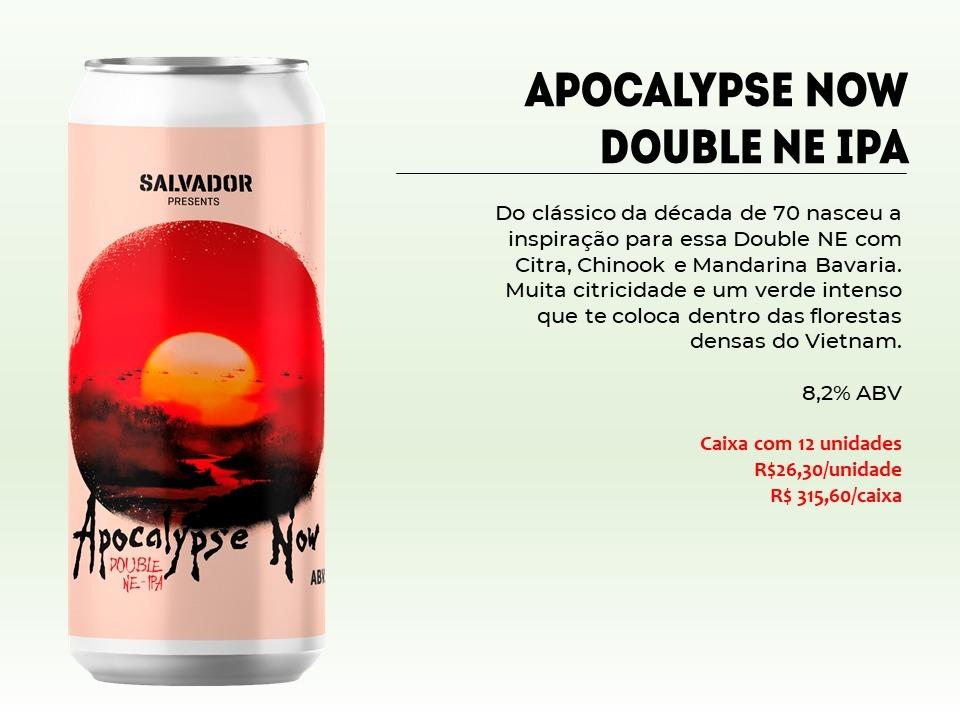 Salvador Apocalypse Now - Lata 473ml - Double New England Ipa