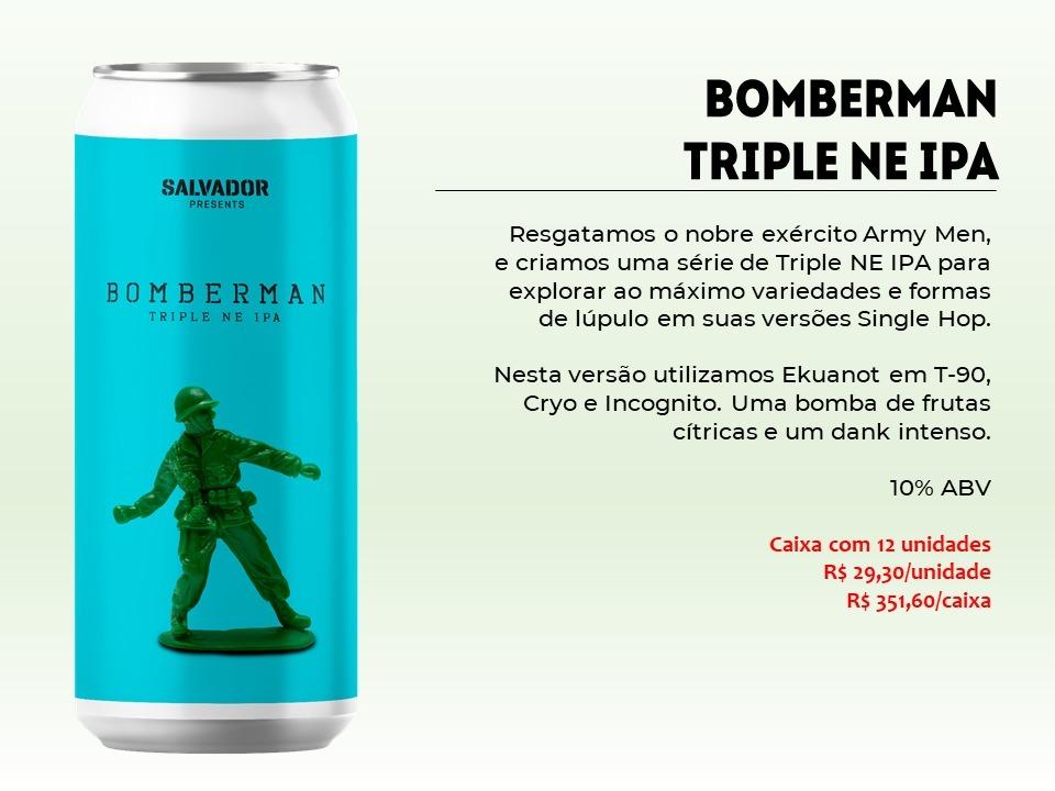 Salvador Bomberman - Lata 473ml - Triple New England Ipa