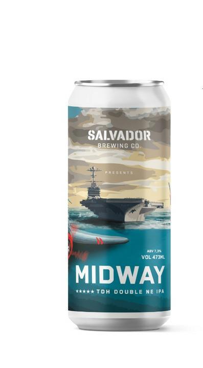 Salvador Midway Lata 473ml - TDH Double Neipa