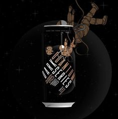 Satelite Dark Quantum Series - Lata 473ml - Russian Imperial Stout com Hazelnut, Coconut, Cocoa e Vanilla