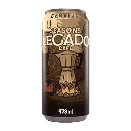 Seasons Legado Stout com Café - Lata 473ml