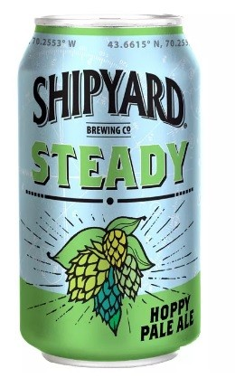 shipyard Steady Hoppy Pale Ale  Lata 355ml