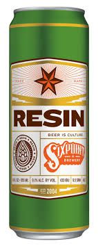 Sixpoint Brewery  Resin Lata 355ml  imperial iPA (val 06/03/2019)