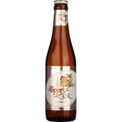 Brugse Sport Zot 330ml Blond Ale sem Alcool