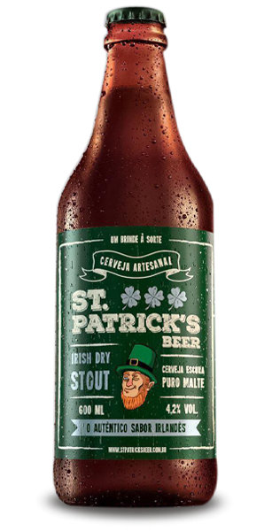 St. Patrick´s Irish Dry Stout 600ml