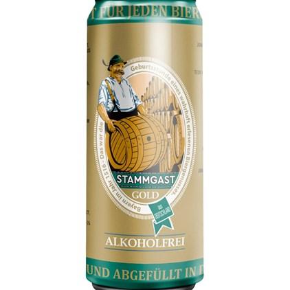 Stammgast Gold Alkoholfrei Lata 500ml