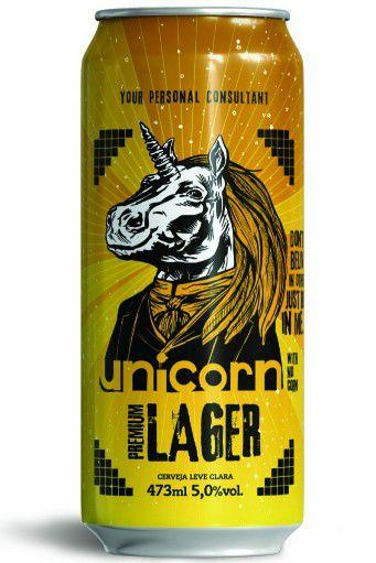 Startup Unicorn Lager  Lata 473ml