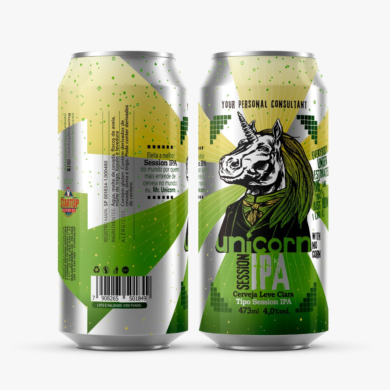 Startup Unicorn Session Ipa Lata 473ml