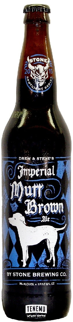 Stone Imperial Mutt Brown Ale 650ml